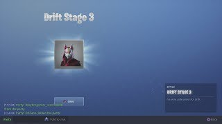 "STAGE 3 ""DRIFT"" UNLOCKED! Season 5 Upgraded Skin Unlock Challenge Fortnite Battle Royale Gameplay"