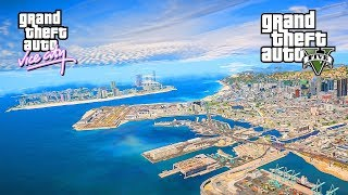 карта Vice City в GTA 5  Обзор карты (Map Vice City in GTA 5)