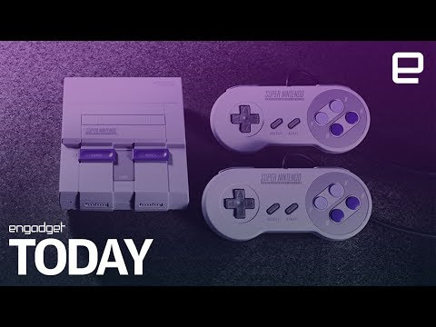 The Super Nintendo Entertainment System relaunch is for real | Engadget Today