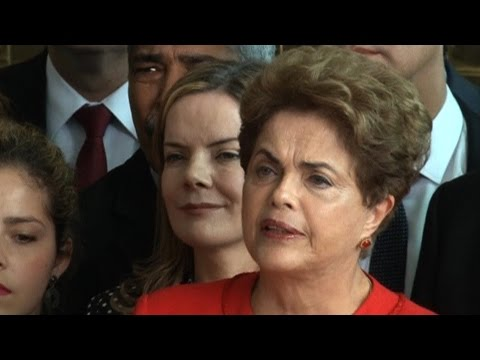 Dilma Rousseff on Ouster: This is a Coup That Will Impact Every Democratic Organization in Brazil