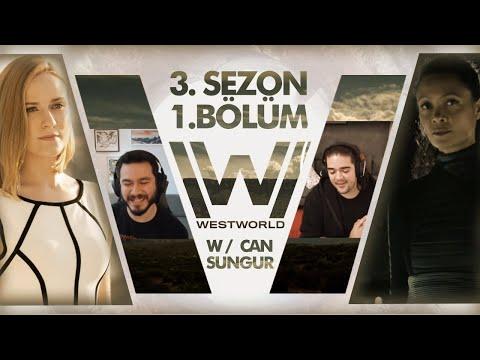 Westworld 3. Sezon 1. Bölüm Muhabbeti w/ Can Sungur
