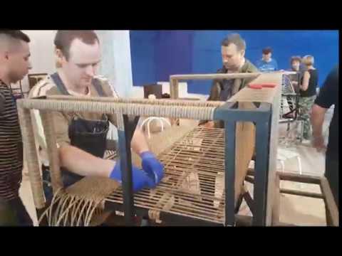 Курсы плетения из искусственного ротанга - МАЙ 2017