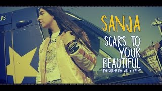 Alessia Cara - Scars To Your Beautiful - SANJA (Cover) prod. by Vichy Ratey