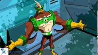 Ben 10 Omniverse: Kickin Hawk Transformation