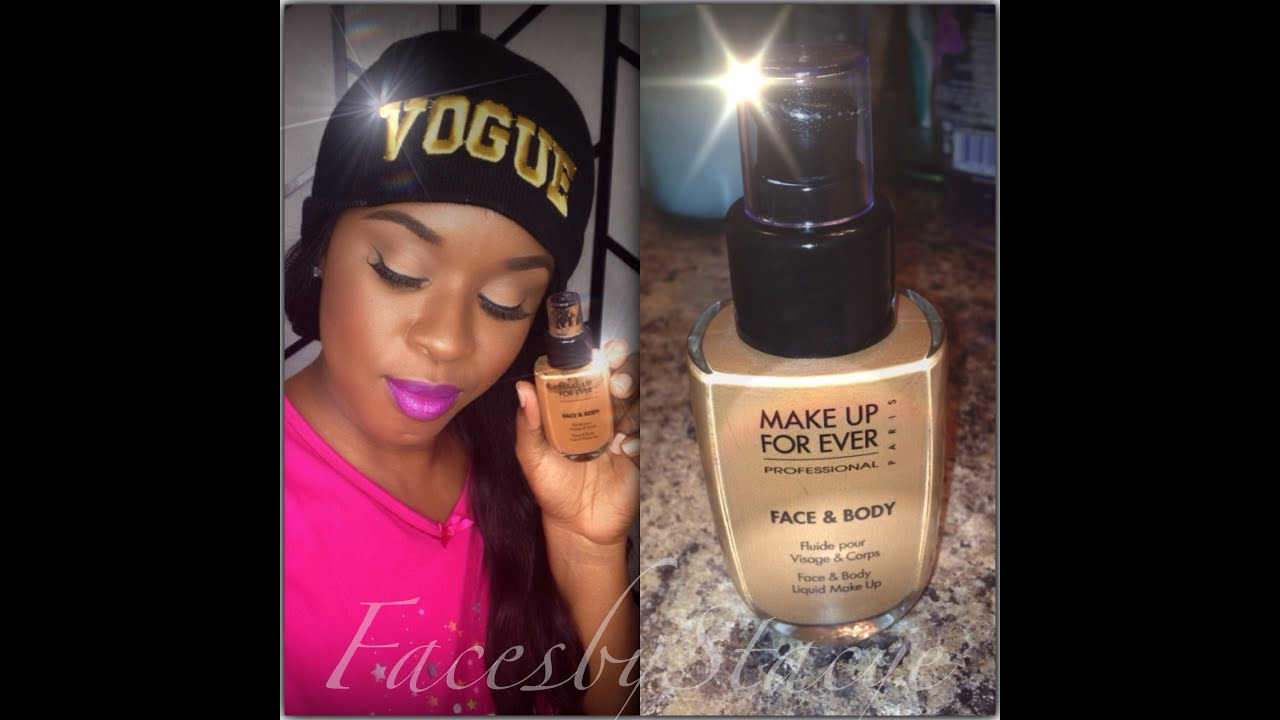 MakeUp Forever Face U0026 Body Foundation Review - YouTube