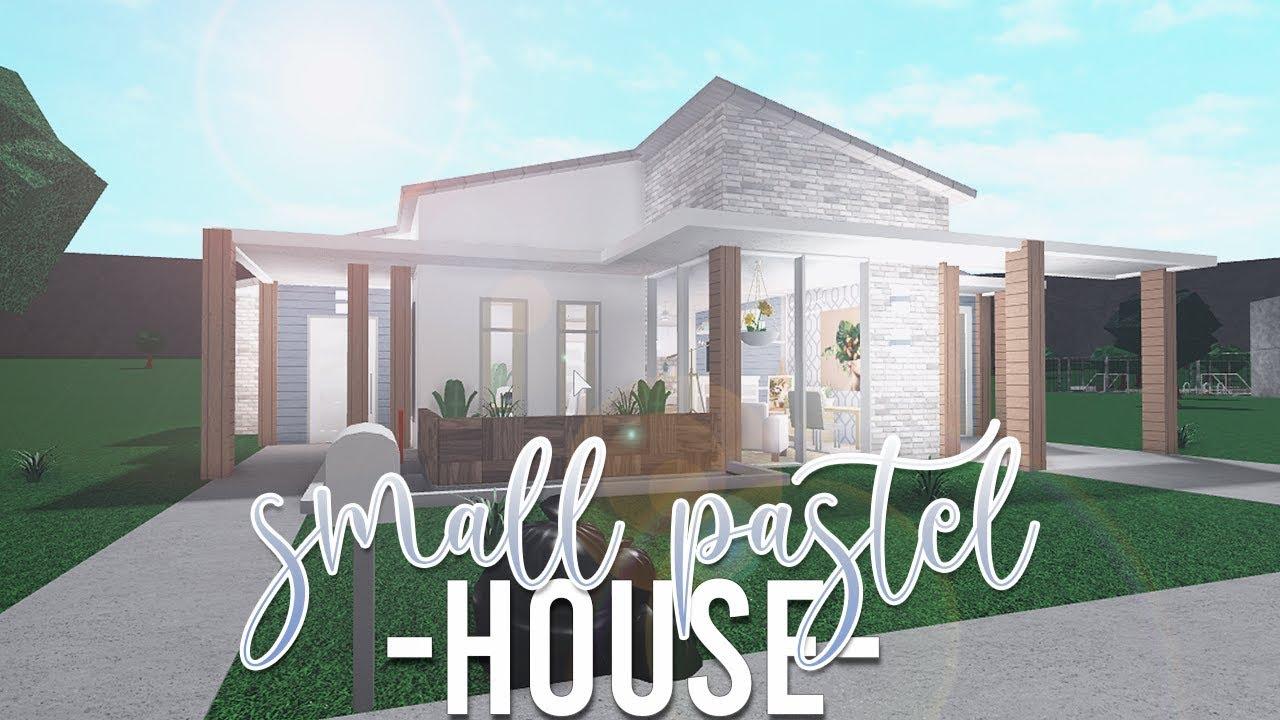 Roblox Bloxburg Small Pastel House 47k No Gamepass