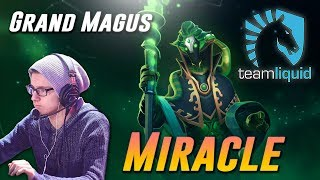Miracle Rubick Grand Magus Mid - Dota 2 Pro MMR Gameplay
