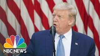 Live: Trump Delivers Remarks on Rebuilding Infrastructure   NBC News