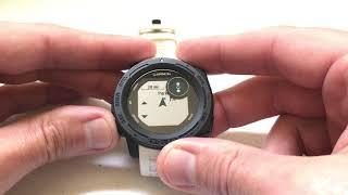 Garmin Instinct Watch - Panning and Zooming the Map in Navigation screenshot 3
