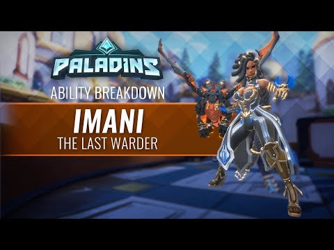 Paladins - Ability Breakdown - Imani, the Last Warder