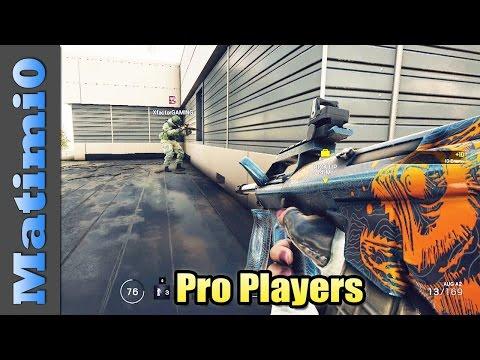 Pro Players - Rainbow Six Siege