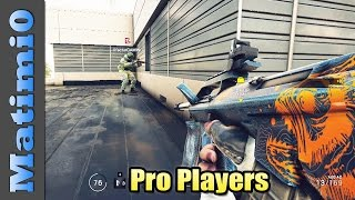Pro Players - Rainbow Six Siege