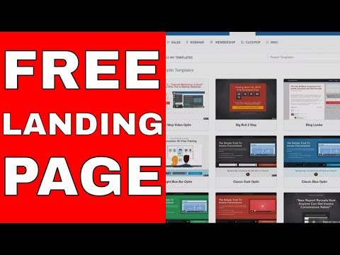 Watch Me Create A Simple Clickfunnels Landing Page Live – Affiliate Marketing 101