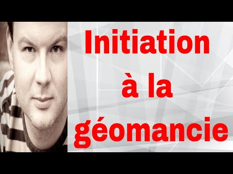 Initiation à la géomancie