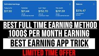 Best earning method to earn money