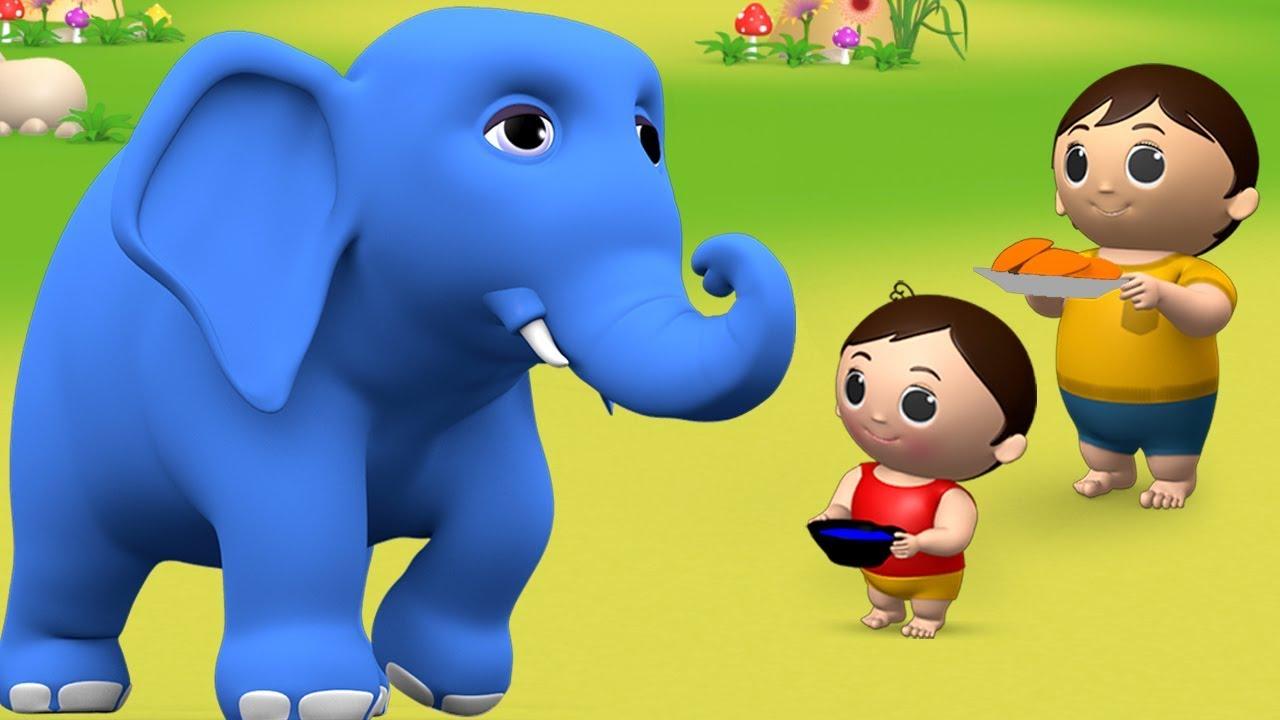 Hathi Raja Kahan Chale - Hindi Rhymes   हाथी राजा कहाँ चले   Hindi Balgeet  Nursery Rhymes for Kids