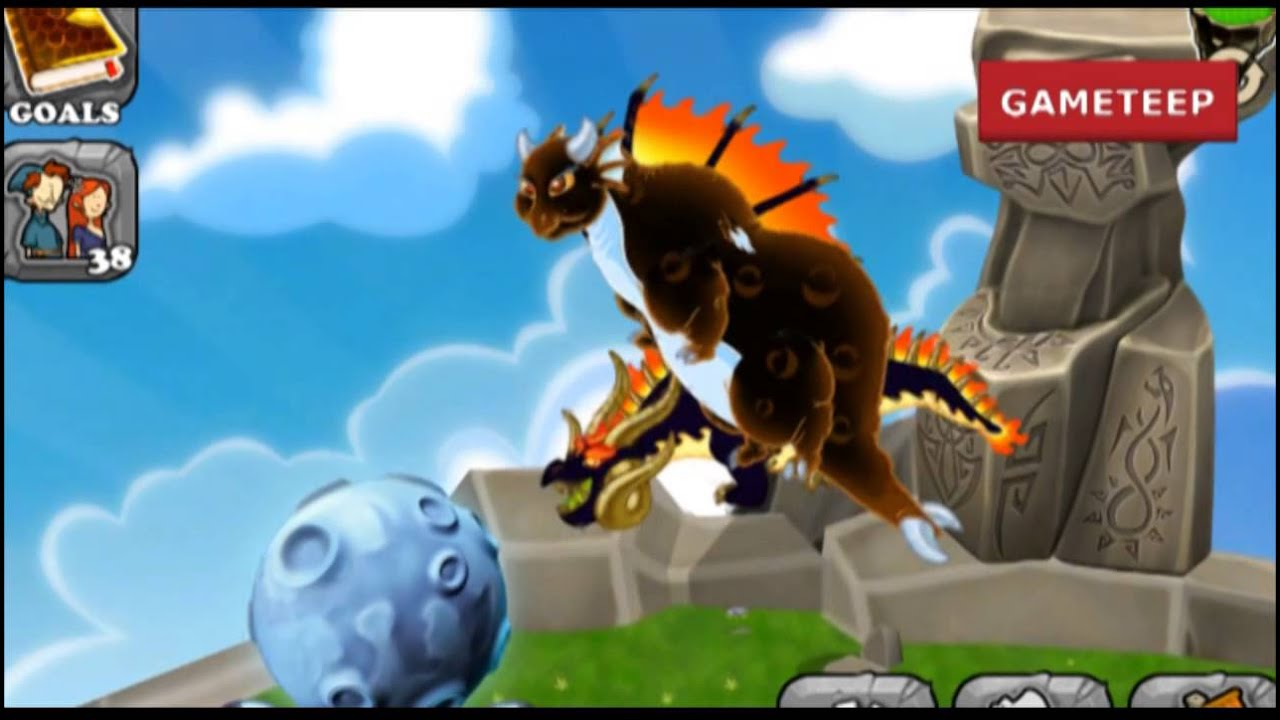 How to breed Lunar Eclipse Dragon 100% Real! DragonVale ...