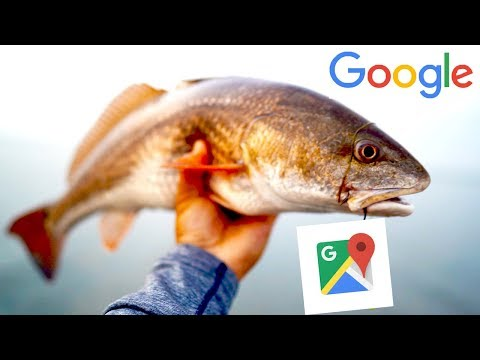 Using Google Maps To Find Redfish And New Fishing Spots