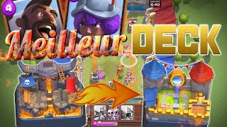 Video clash royale fr le meilleur deck en ar ne 4 for Clash royale meilleur deck arene 7