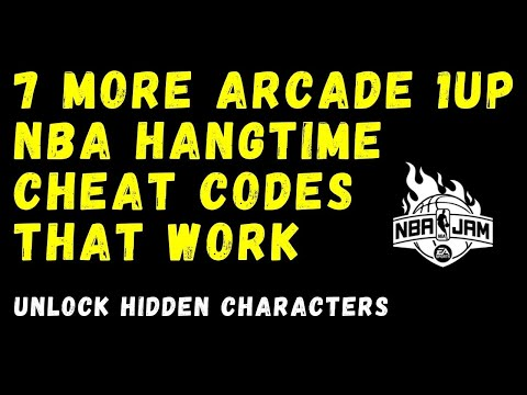 Arcade 1up NBA Hangtime Cheat Codes - Part 2 (Hidden Characters) from Rob Young