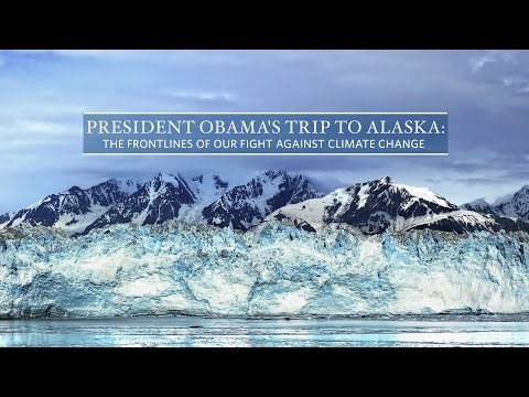 President Obama Previews His Upcoming Trip to Alaska