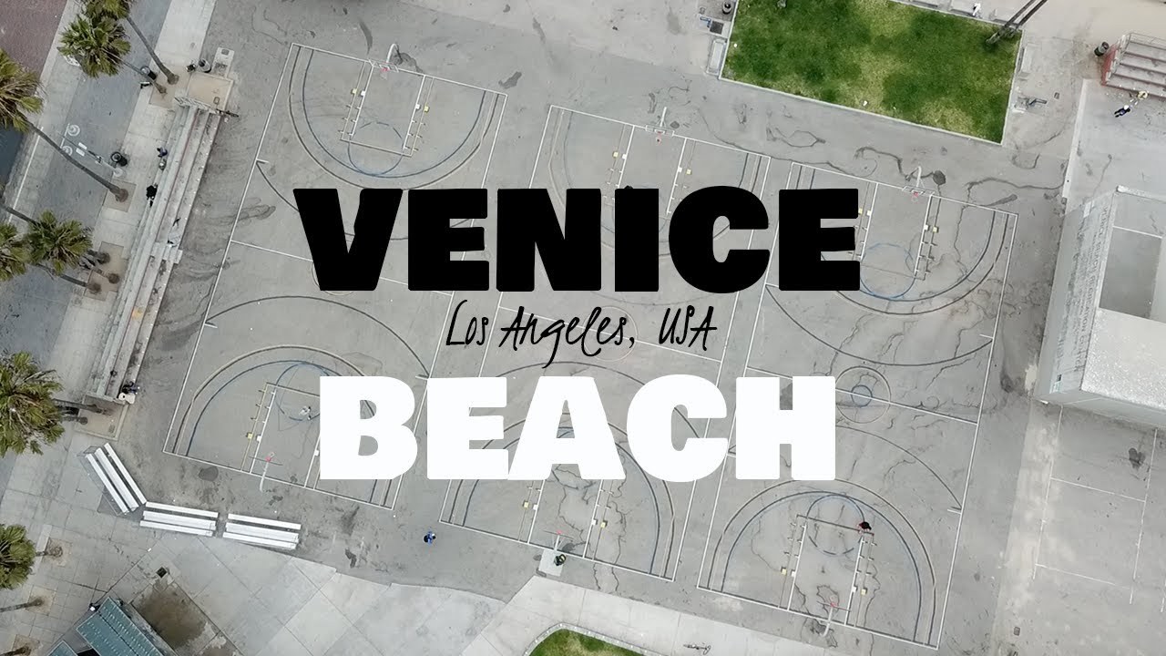 4K Drone in Venice Beach│Los Angles, USA
