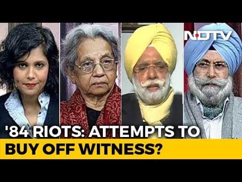 Sajjan Kumar Threatened Me, Says 1984 Riots Witness