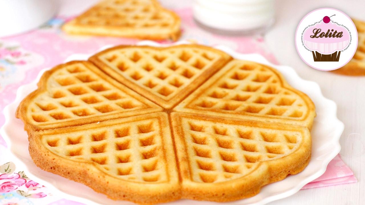 Gofres Belgas Gofres Caseros Receta Gofres Belgas Waffle