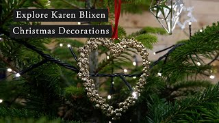 KAREN BLIXEN Christmas Decoration | See up close 2020 Decorations with Russell New
