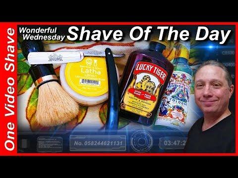 Wonderful Wednesday ShaveOfTheDay #OVS, The Haddon Brand Straight Razor Shave, Barrister&Mann #SOTD