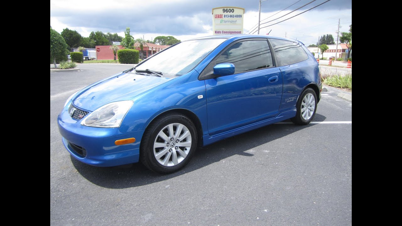 Sold 2004 Honda Civic Si I Vtec One Owner Meticulous Motors Inc Florida For You