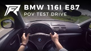 2010 BMW 116i E87 - POV Test Drive