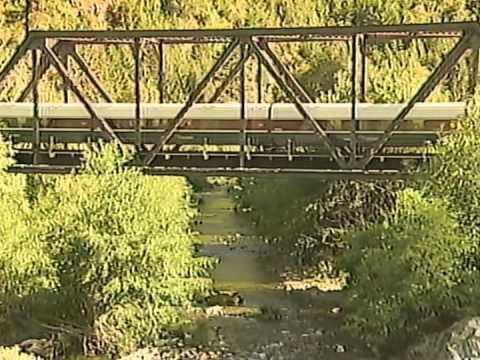 Amtrak Cascades Train on the Siskiyou Line