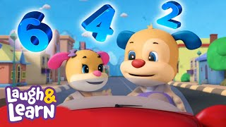 Laugh & Learn™ - Counting Cars | Cartoons and Kids Songs | Learn 123s | Nursery Rhymes