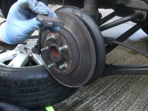 how to change front brake on a2005 ford focus