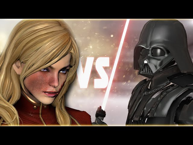Captain Marvel VS Darth Vader | MARVEL VS STAR WARS - EPIC BATTLE