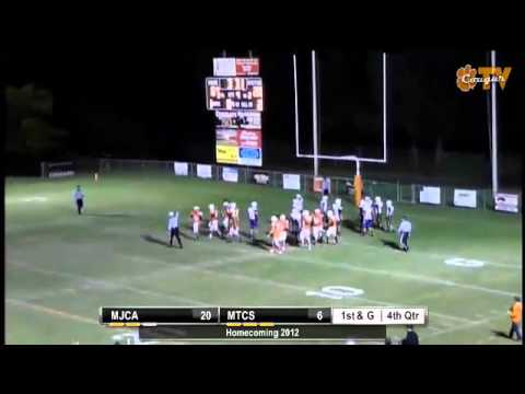 Middle Tennessee Christian School #11 Justin Winn 1 yard TD run