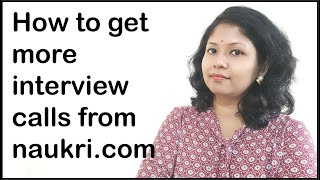 How to get more interview calls from naukri.com | #naukrijobs screenshot 5