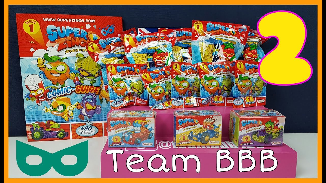 Superzings Rivals of Kaboom Serie 3 Magazine Ufficiale Exclusive Pack Superzings
