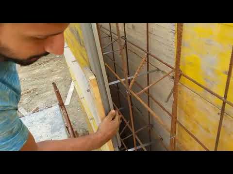 Come Si Costruisce Un Muro In Cemento Armato.Profilo Verticale Per Realizzazione Di Muri In Cemento Armato