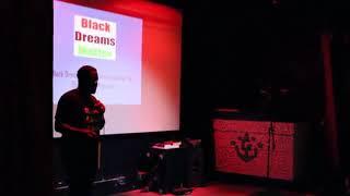 Black Dreams Matter for Nerd Nite Miami.  Jeff Carroll.