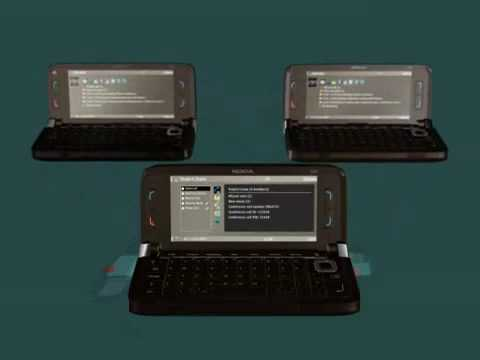 NOKIA E90 GSM CELL PHONE ADVERTISEMENT DEMO COMMERCIAL PROMO AD
