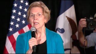 Elizabeth Warren holds campaign event in Iowa