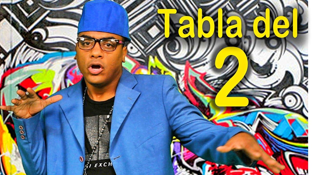 Canción de la tabla del 2 - Las Tablas de Multiplicar al Estilo Urbano - Videos Educativos #