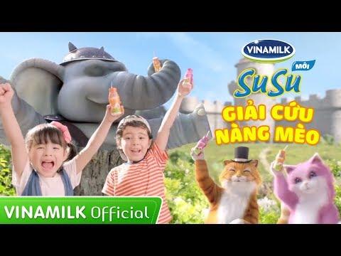 Quảng cáo Vinamilk SuSu mới - Giải cứu nàng mèo