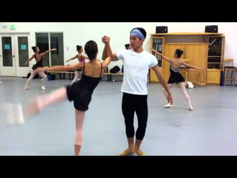Ballet Hawaii Spring Showcase Preview.  Choreography by Laurie LaCour.  Music Kishi Bashi.