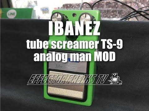 試奏動画】IBANEZ TUBE SCREAMER TS 9 ANALOG MAN MODチューブス