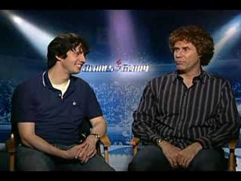 Will Ferrell Jon Heder interview for Blades of Glory