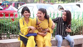 Embarrassing Double Meaning Video Call in Public Prank | THF 2.0 | Simran Verma