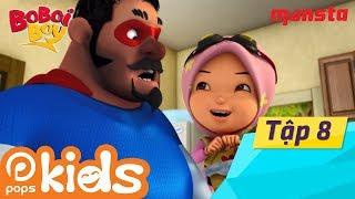 Boboiboy Tập 8: Hiện Thân Của Công Lý - Phim Thiếu Nhi Tiếng Việt | Hoạt Hình POPS Kids